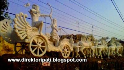 Patung Krisna & Arjuna, Ikon Baru Kota Pati