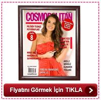 Kişiye Özel Cosmopolitan Dergi Kapağı