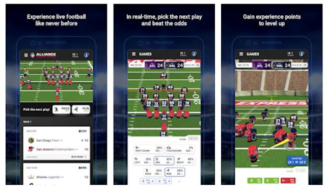 AAF - Alliance of American Football mobile app