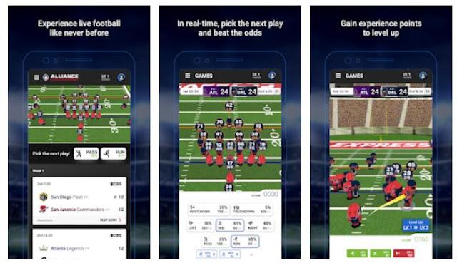 AAF - Alliance of American Football mobile app