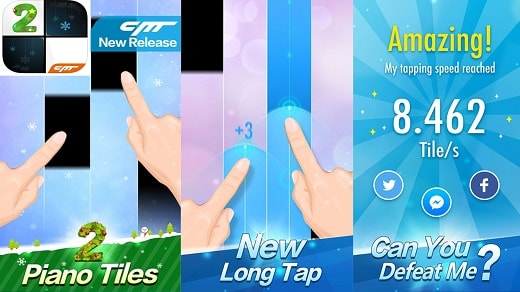 Game Offline Terbaik Piano Tiles 2(Don't Tap...2)