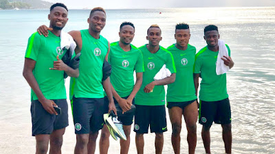 See Super Eagles Players Who Are Settled For AFCON Qualifiers
