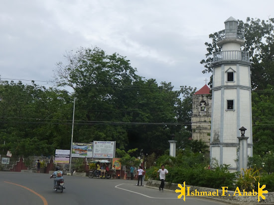 Bagacay Point Lighthouse replica located along the highway in Lilo-an, Cebu