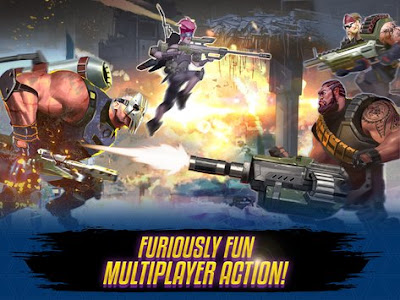 PvP Arena Shooter MOD APK v0.14.0 Original Version (Unreleased) Terbaru 2017