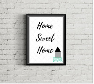 Download and Print Home Sweet Home Art Print