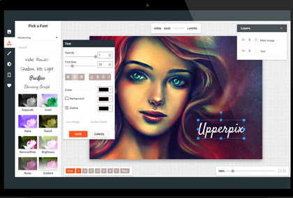 Edit Foto Online Dengan Tool Upperpix VSmaster