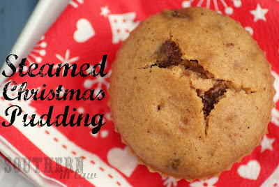 Gluten Free Steamed Christmas Pudding Muffins