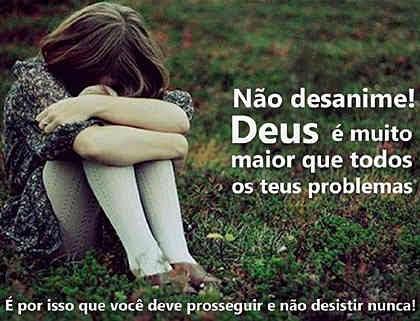 Deus é maior que seus problemas