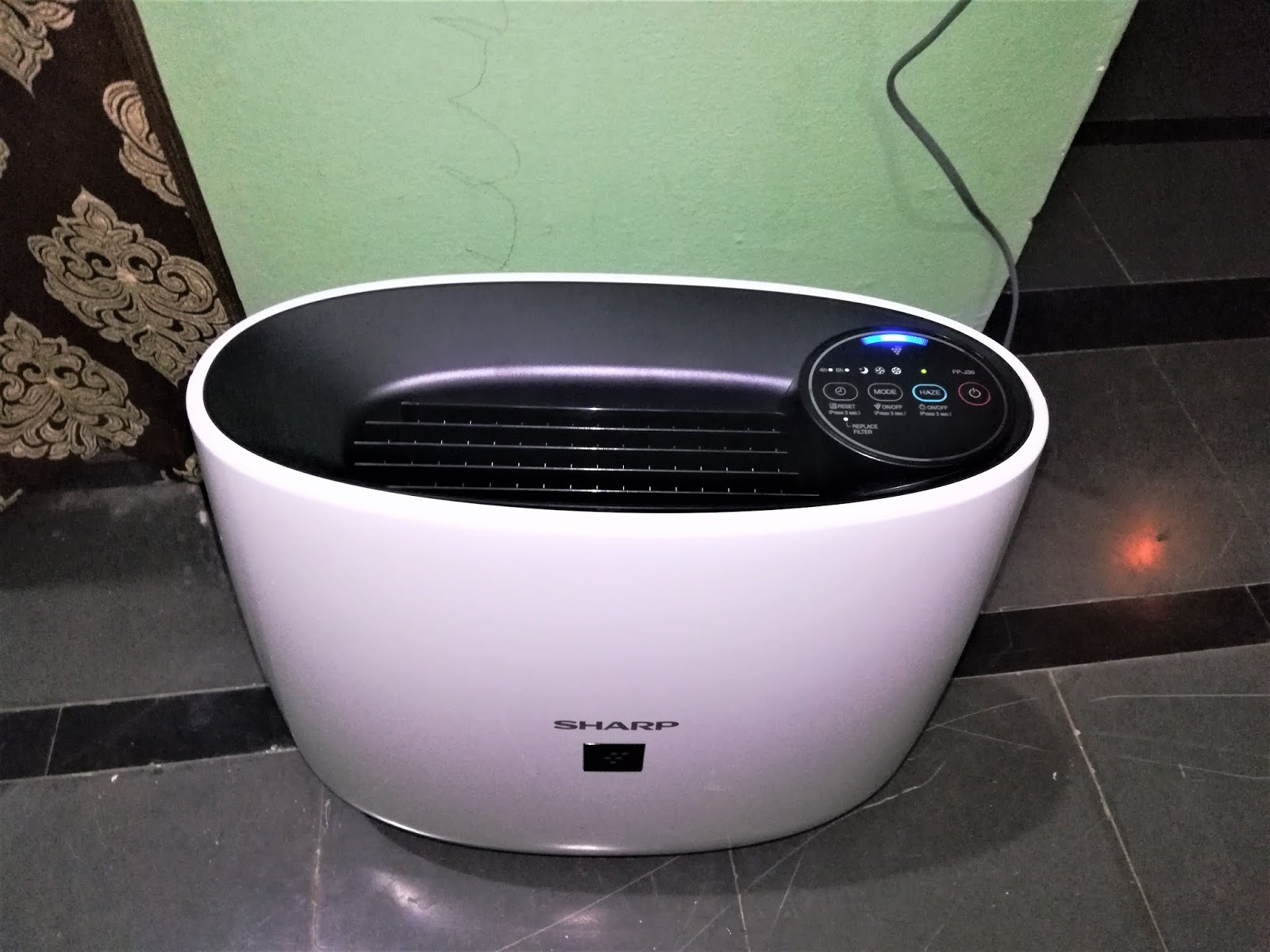 Learn New Things Sharp Vestige Air Purifier Fp J30m B