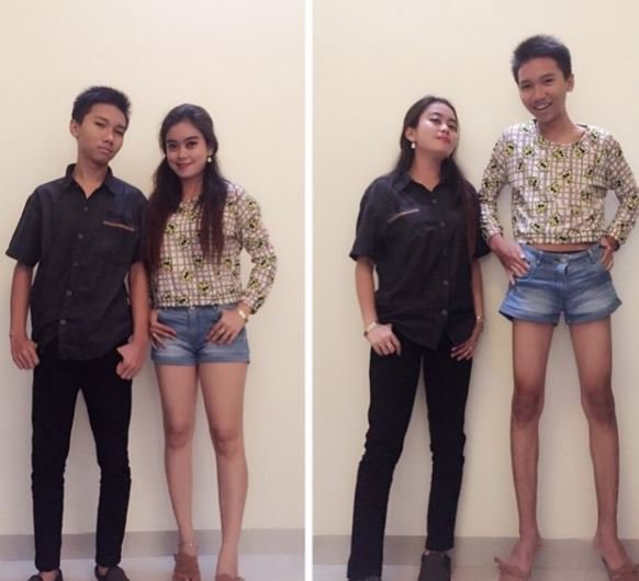 Tukar pakaian biar kelihatan nge-hits - Pacaran Ala Kids Jaman Now