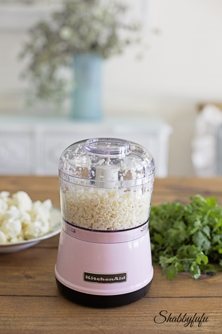 pink kitchenaid food chopper