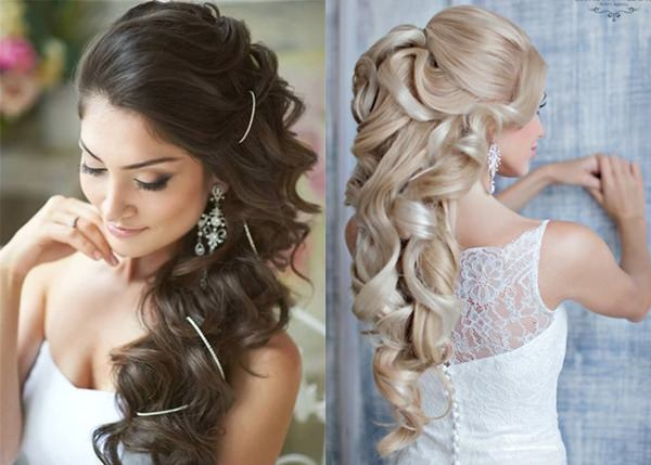 Wedding Hairstyle with Permanent Waves 2