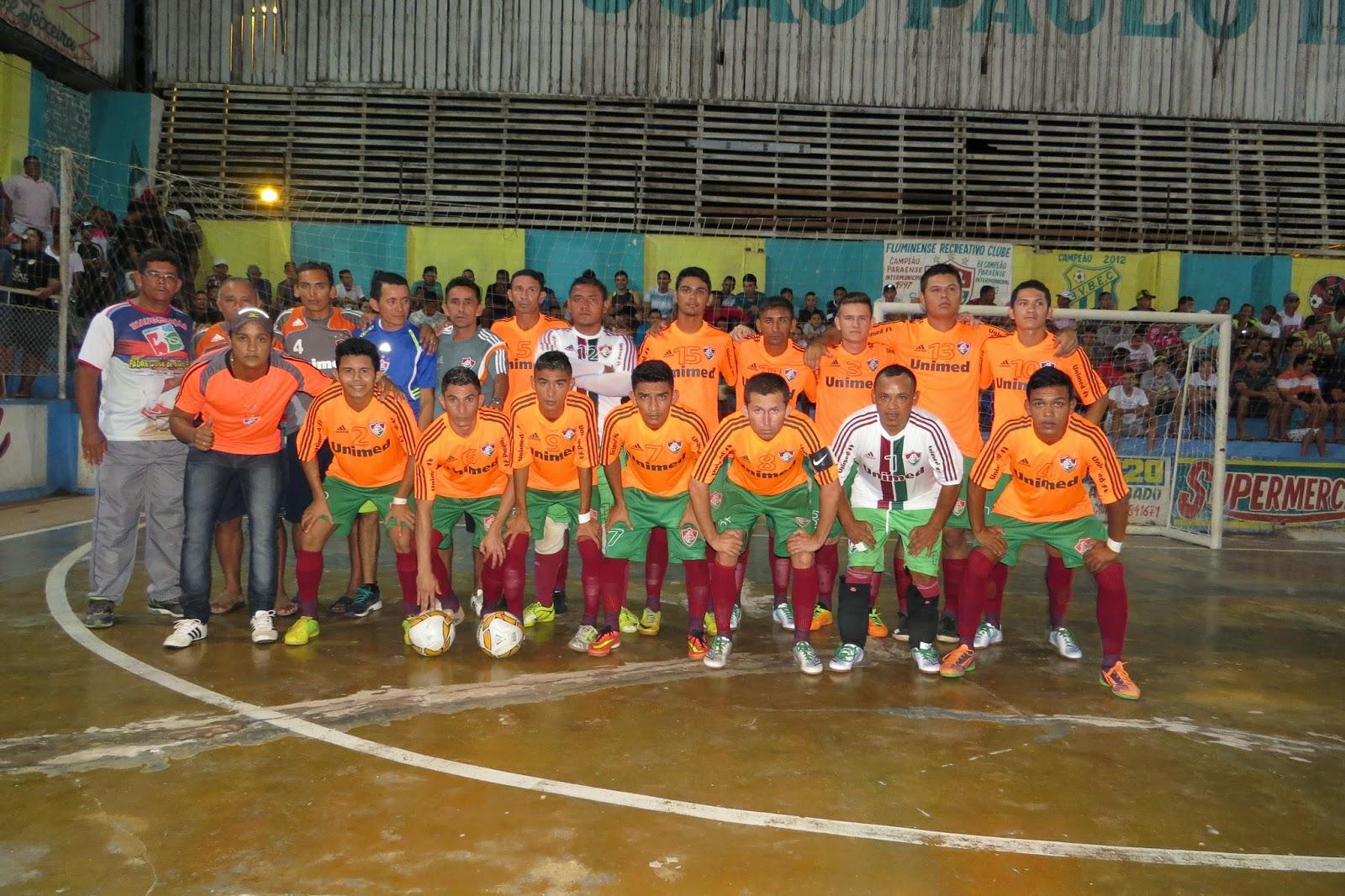 Blog Marajó News  Fluminense vence a seleção de Breves pelo placar de 4 à 3  pelo Campeonato Paraense de Futsal 2015. cc940bad01db2