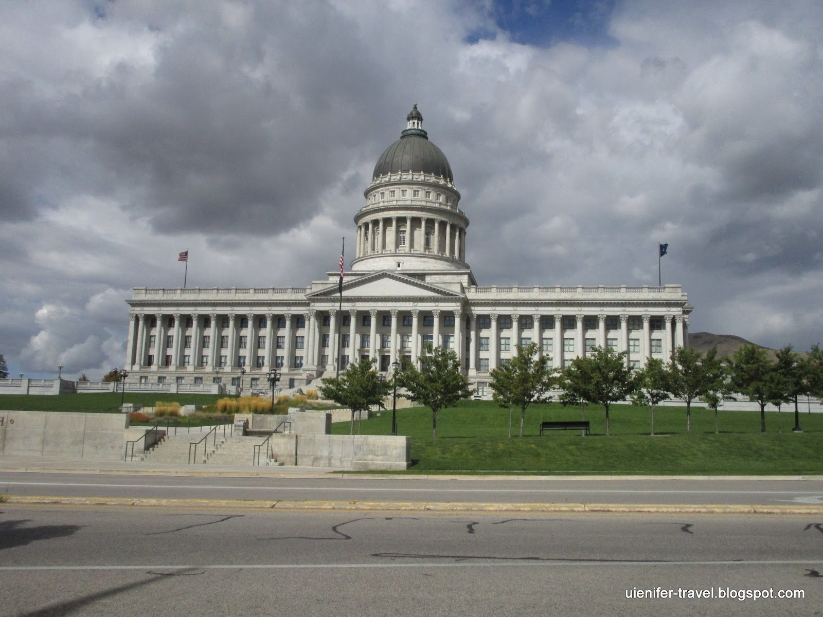 Капитолий штата Юта, Солт-Лейк-Сити, Юта (Utah State Capitol, Salt Lake City, Utah)