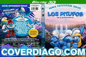 Los Pitufos En La Aldea Perdida - BLURAY 3D