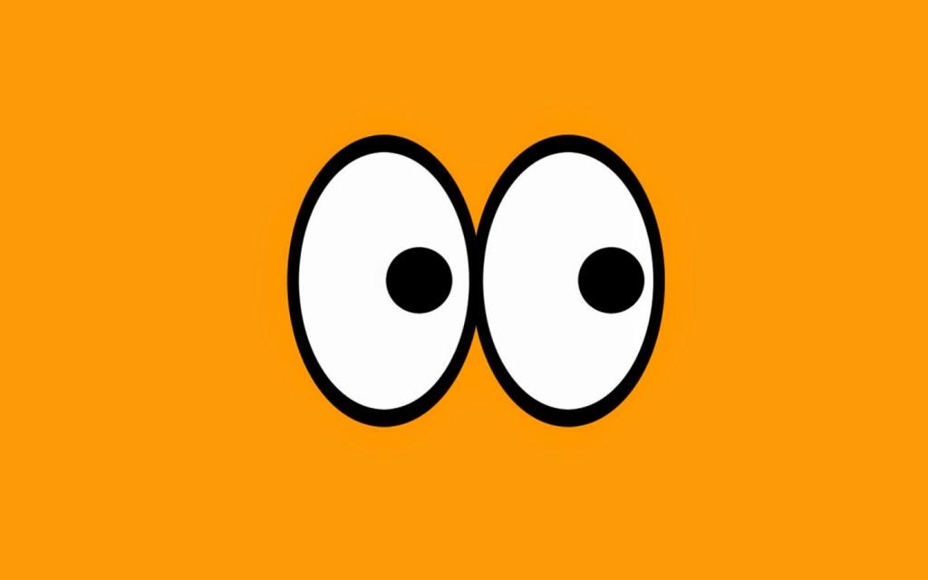 Ojos asombro