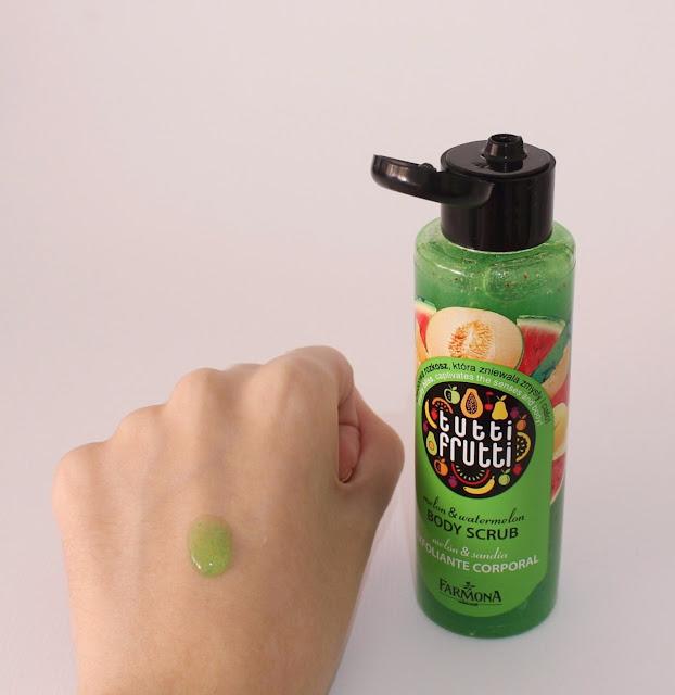 Exfoliante corporal Tutti Frutti Melon