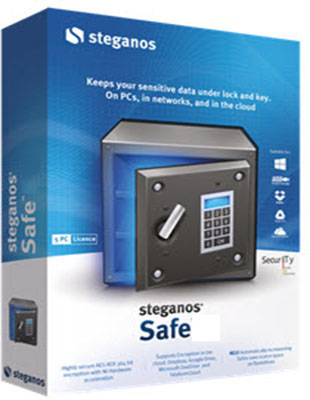 Steganos Safe 19.0.0 Revision 12184 poster box cover