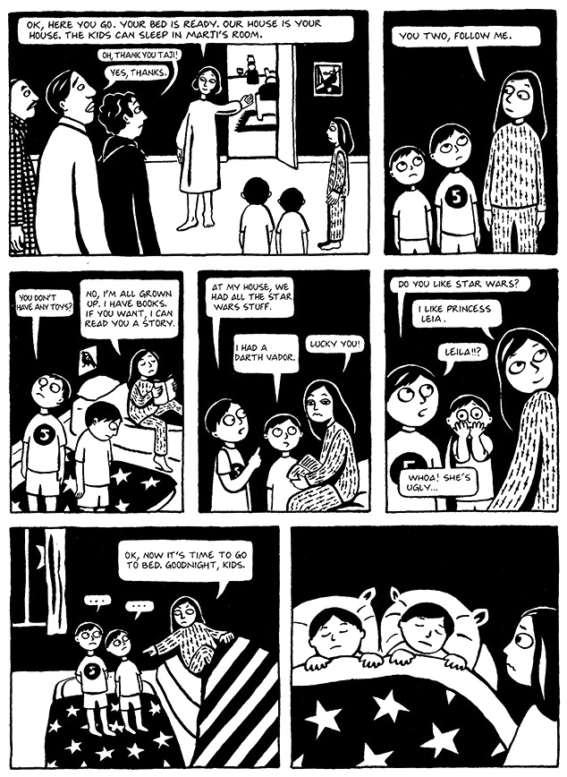 Read Chapter 12 - The Jewels, page 89, from Marjane Satrapi's Persepolis 1 - The Story of a Childhood