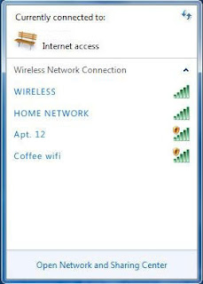 Windows Wireless Connections