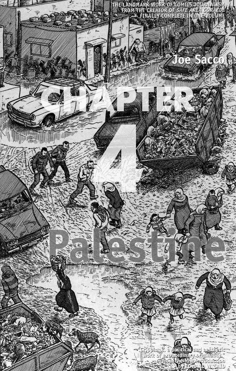Read chapter 4 of Joe Sacco - Palestine online
