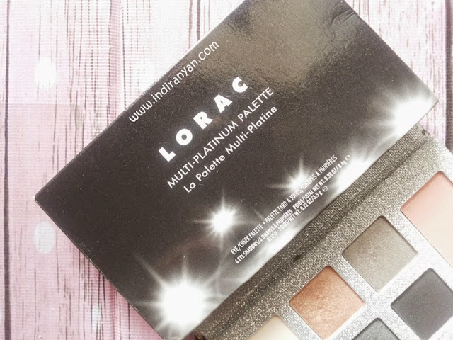 Lorac Multi Platinum Eye Cheek Palette