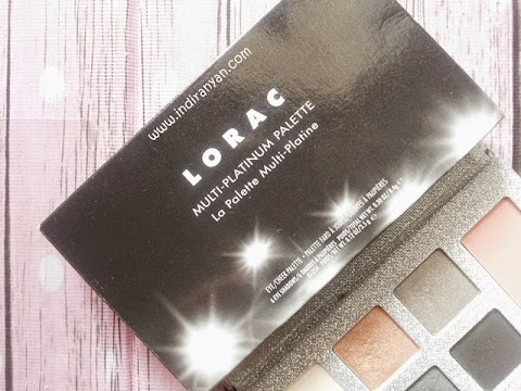 [FIRST IMPRESSION] Lorac : Multi-Platinum Eye Cheek Palette
