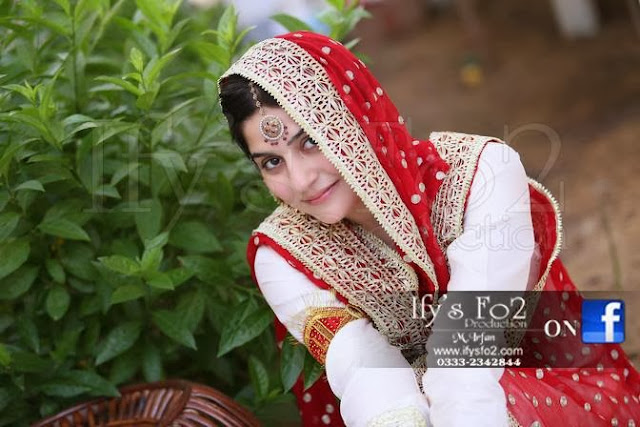 Sanam Baloch Wedding Pic Nikah Day