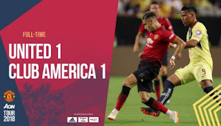 Club America vs Manchester United 1-1 Video Gol & Highlights