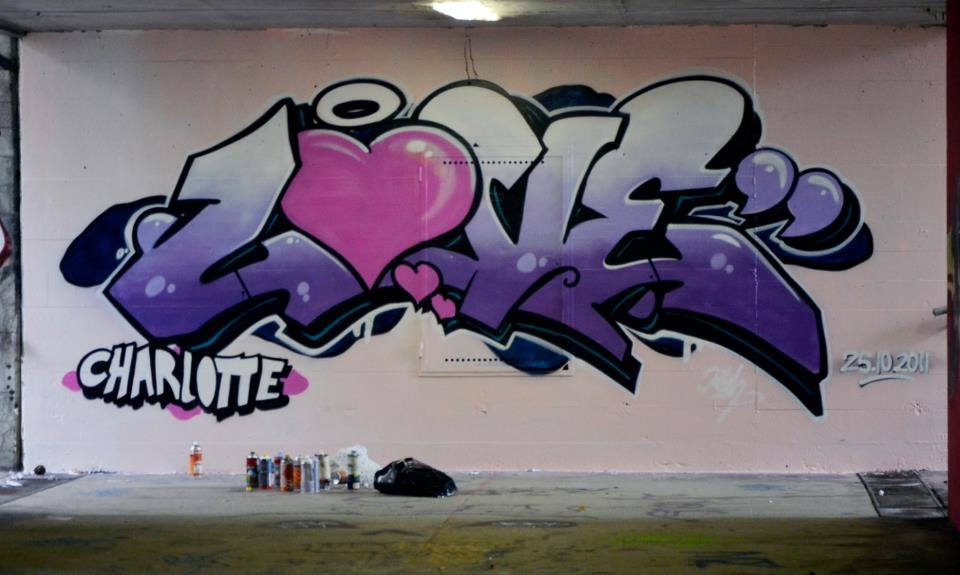 Graffiti Love | New Graffiti Art