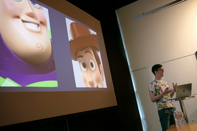 Alex Marino at Pixar Toy Story 4