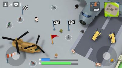 لعبة Battlelands Royale مهكرة للأندرويد - تحميل مباشر
