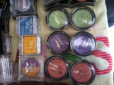 Inexpensive eyeshadows - www.modenmakeup.com