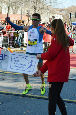 Carrera Popular de Aranjuez - Atleta fallece