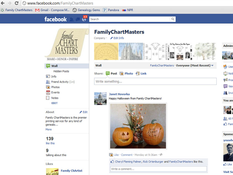 Facebook, Evernote, Google + and More in Genealogy Research : Re-Post from The Chart Chick