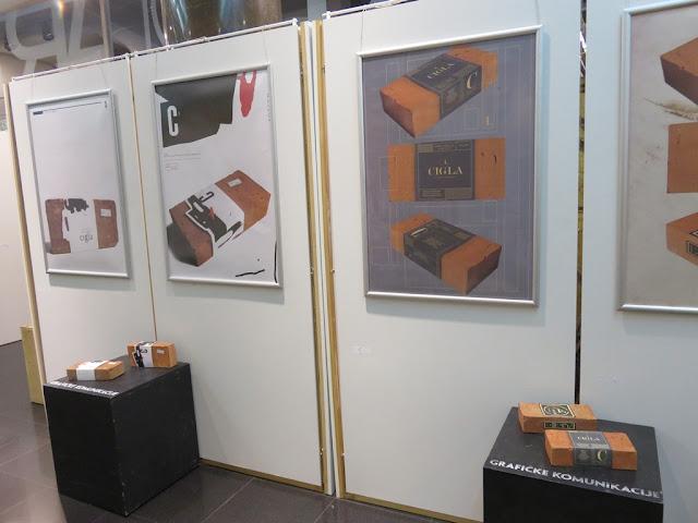 """Izložba """"Cigla"""" u KomBank Art holu"""