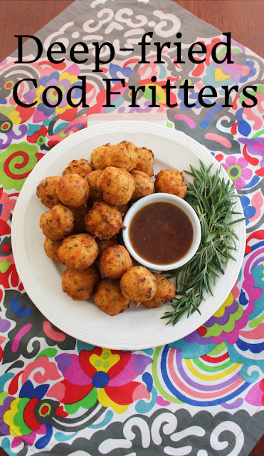 Food Lust People Love: Bolinhos de bacalhau are crispy deep-fried cod fritters made with mashed potato. They are crunchy on the outside and tender on the inside, the perfect appetizer or main dish.