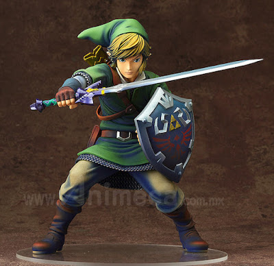 Figura Link Edición Limitada The Legend of Zelda Skyward Sword