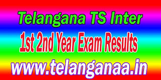 Telangana TS Inter 1st 2nd Year Exam Results Telangana Intermediate Exam Results download