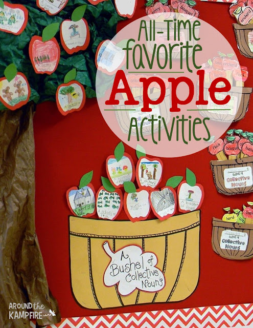 All-time Favorite Apple Activites-A blog series with lots of apple ideas kids love!
