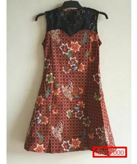 gambar model baju batik anak wanita