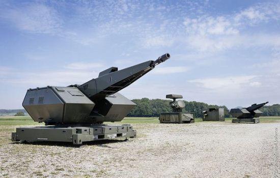 Sistem pertahanan udara Oerlikon Skyshield