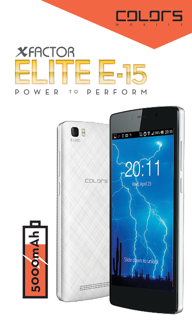 Colors E15 Official Firmware 100% Tested Free Download