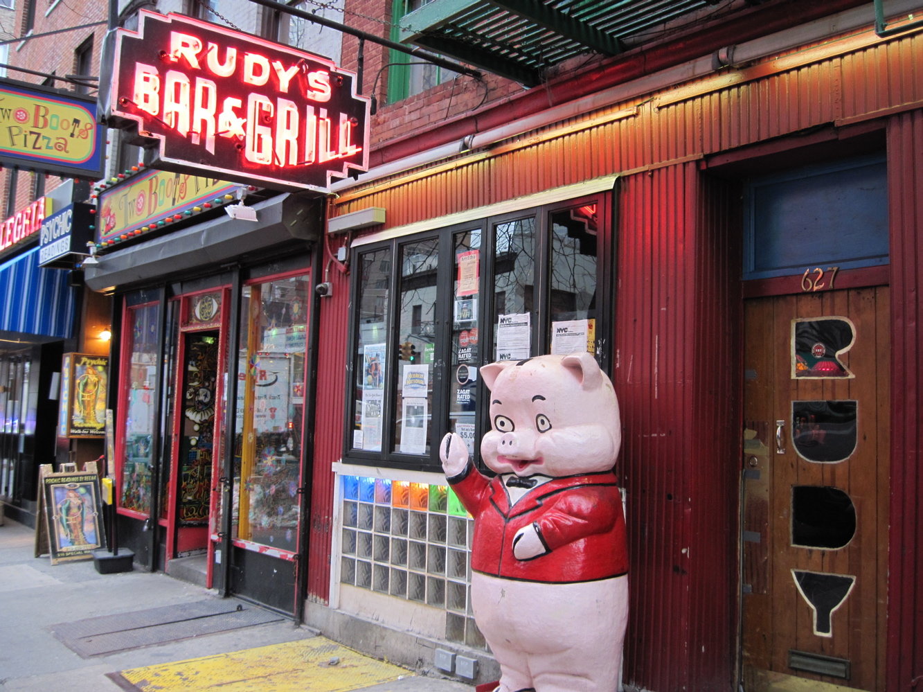 Mitch Broder's Vintage New York: Rudy's Bar and Grill: How I