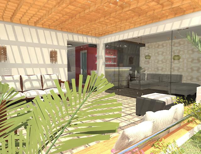 Proyectos Arquitectónicos Saloon Bar Terraza