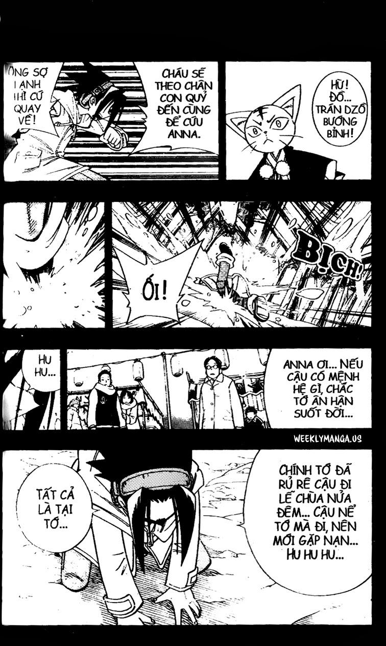 Shaman King [Vua pháp thuật] chap 173 trang 18