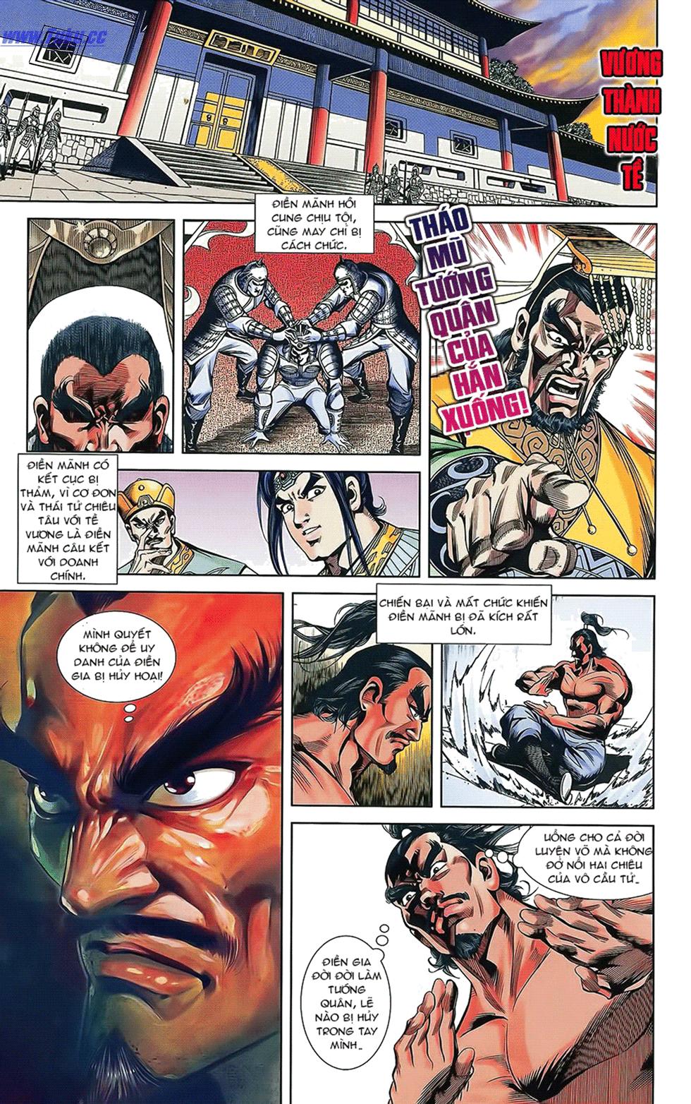 Tần Vương Doanh Chính chapter 16 trang 4