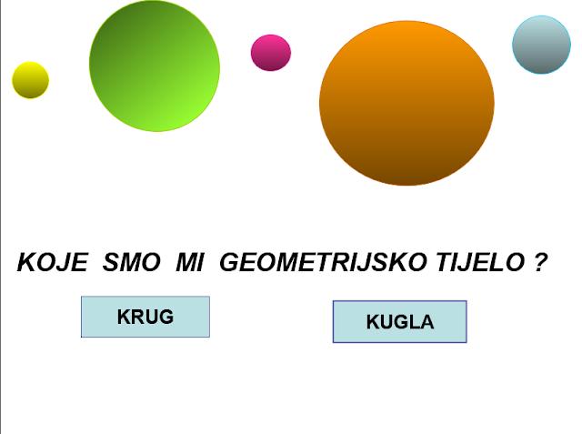 POWERPOINT - GEOMETRIJSKA TIJELA KVIZ