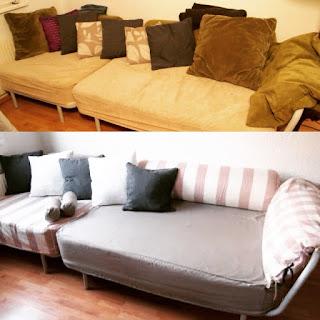 Couchbezüge selber nähen
