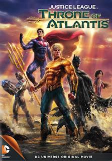 La liga de la justicia El trono de Atlantis